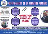 Formation Autocad  2d -3d - Maroc