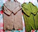 Gilet en tricot long pour femme taille standard  - Maroc