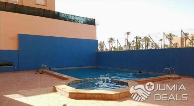 image_1 : Location duplex meublé 3 chambres route de casa région Marrakech