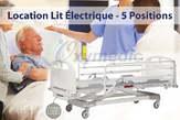 Location Lit Médicalisé éLectrique 5 Positions - Maroc