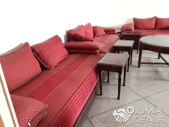 Salon marocain rouge | Casablanca | Jumia Deals