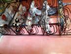 Belle vitrine en fer forget - Maroc
