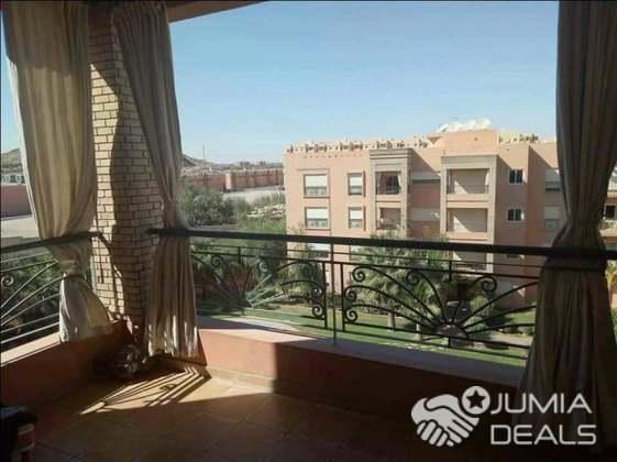 Location appartement meublé avec piscine route de casa