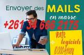 Logiciel Pour Envoyer Emailing + Capturer Adresse Mail - Madagascar