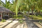 Lodge de Lokobe sur plage - Nosy Be - Madagascar