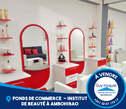 FONDS DE COMMERCE : Un beau salon de coiffure entièrement meublé et équipé  à vendre à Ambohibao Ref 3585 - Madagascar