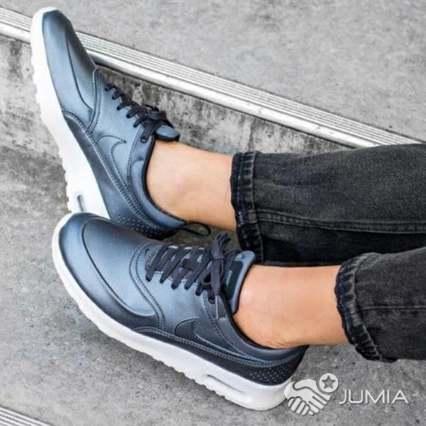 nouveau style 9b4a7 5f572 Solde -35% Nike Air Max Thea Premium Metallic Authentique | Antanimena |  Jumia