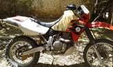 moto 650 XR R - Madagascar