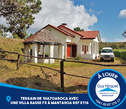 Terrain de 1Ha70a50Ca avec une villa basse F3 à vendre à Mantasoa REF E116 - Madagascar