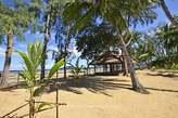 Domaine balnéaire sur plage à Nosy Be - Madagascar