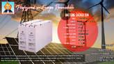 Batterie Special Solaire Gel Etanche - Madagascar