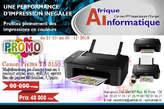 Promo chez AI : Imprimante canon Pixma TS 3150 - Mali