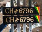 Confection des plaques auto  - Mali