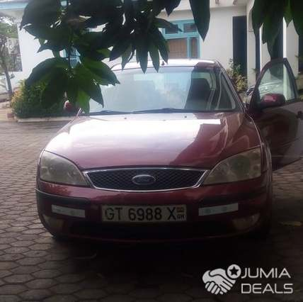 Ford Mondeo 2005 Red