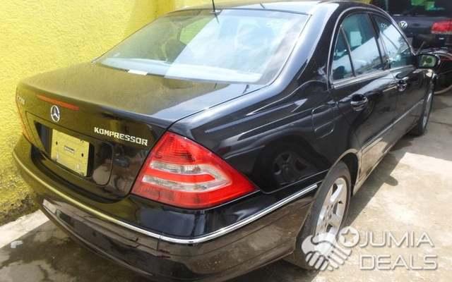 Mercedes Benz C230 Kompressor 2004 Black