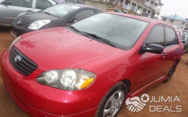 2005 Toyota Corolla Xrs >> Toyota Corolla Xrs 2005 Red