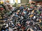 Bale of shoes  - Nigeria