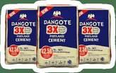 Dangote 3x Cement promo - Nigeria