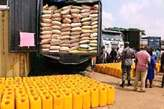 BAGS OF RICE AND GROUNDNUT OIL - Nigeria