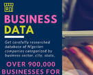 Get Carefully researched Database of All Nigerian Businesses - Nigeria