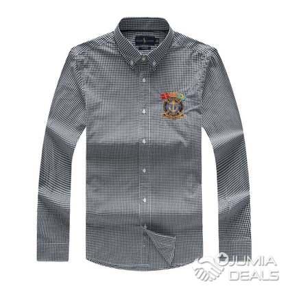 ca193be0c1eb Polo Ralph Lauren Marine Supply Micro-Check Shirt - Black | Lagos ...