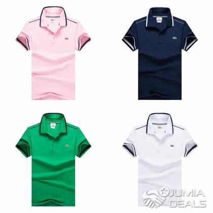 f1dce816e Lacoste Slim Fit Stripe Collar Polo Shirt - Nigeria