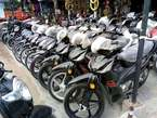 Black haojue motorcycle - Nigeria