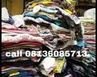 Bales of clothes and shoes, - Nigeria