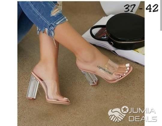 Nude colour heels   Ibeju   Jumia Deals