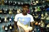 Bales of men shoes - Nigeria