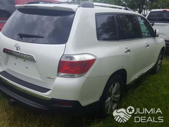 2014 Toyota Highlander SUV 4 Doors   Nigeria