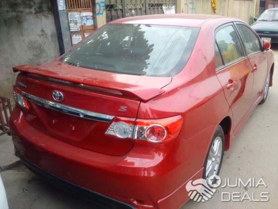 Toyota Corolla Sport 2012   Nigeria