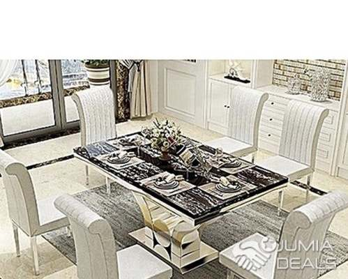 Furniture Dining Table Chairs For Sale Lagos Jumia Deals