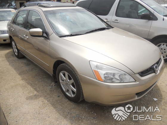 2004 Honda Accord Ex V6 Clean Gold Color N Leather Upholstery For