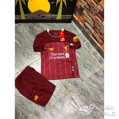 official photos 872bd 89a4b New Balance Liverpool Fc 19/20 Home Children Junior Youth Jersey