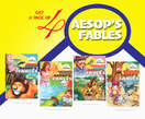 Pack of Four Aesop fables - Nigeria