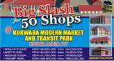 KUKWABA MARKET BIG SLASH FOR 50 SHOPS - Nigeria