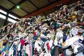 Bales of mixed shoes and ,clothes - Nigeria