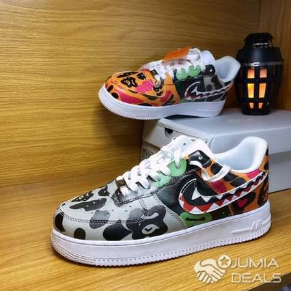 Custom Supreme x Bape x Kaws x Nike Air Force 1 Low | Nike