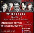 Netflix compte - Sénégal
