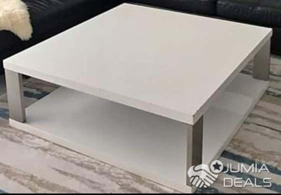 1m Gamme Table Basse X Pied En Blanche Haut De Chrome oQeBrCxdWE