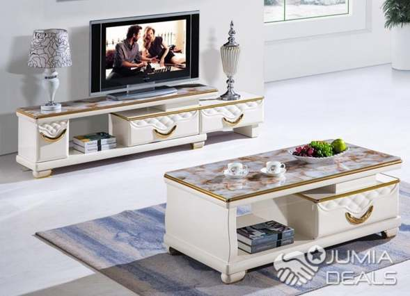 Ensemble Meuble Tv Avec Table Basse Fass Jumia Deals
