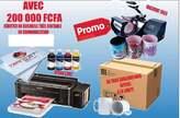 Pack promo ( EPSON+PRESSE TASSE+36 TASSES) - Sénégal
