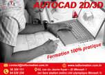 Formation en Logiciels (Solid Works / Autocad 2 D 3 D) - Tunisie