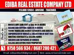115 TITLED PLOT FOR SALE AT NDURUMA  ARUSHA - Tanzania