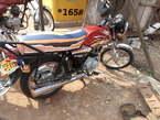 Motorcycle - Uganda