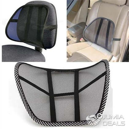 Lumber Back Support Car Seat And Office Chair Pad