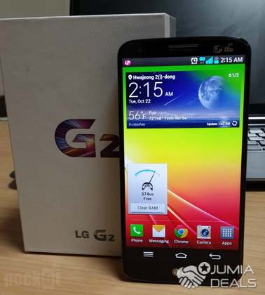 Lg g2 black 32gb space