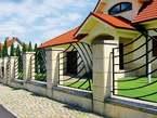 Designed Wall Fence - Uganda