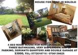 house for rent in kololo - Uganda